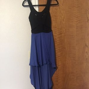 Reverse Cutout High Low Dress - Urban Outfitters